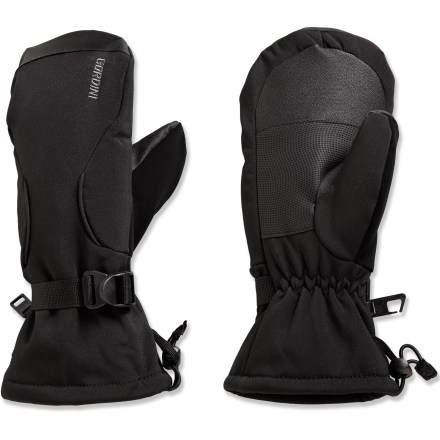 Ski Gordini soft-shell mittens for women protect hands from winter's fury. - $11.73