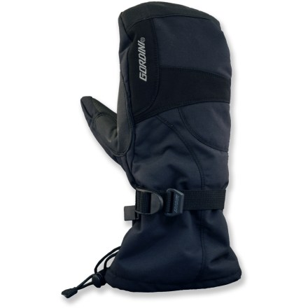 Ski The Gordini Aquabloc Down gauntlet mittens surround your hands in warmth-perfect for cold-weather excursions. - $24.73