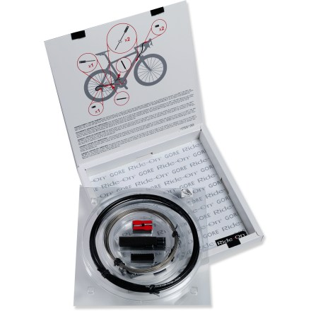 Fitness The GORE RideOn derailleur cable kit (Professional System) is designed specifically for road bikes. This cable system sets the new standard for shifting performance in any riding conditions. - $39.93