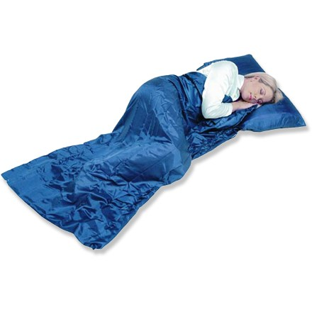 Camp and Hike The rectangular Grand Trunk Silk Sleep Sack can be used alone when traveling to hot and humid climates or for budget hotel traveling. - $40.73