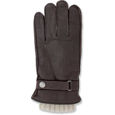 Fitness The casual Grandoe Thunderbird gloves will keep your hands warm while you walk the dog or drive to work. Buffalo leather exteriors are lined with a buttery soft cashmere/polyester blend gloves for excellent comfort; liner gloves can be removed and worn on their own. - $47.83