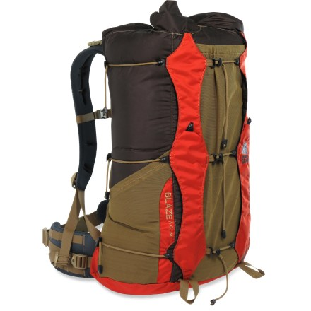 Camp and Hike This ultralight extended-trip pack for women combines Spartan simplicity with a well-engineered suspension capable of carrying 40 lb. loads, so you can save weight while maximizing speed and comfort. - $239.95