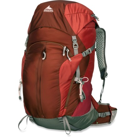 Camp and Hike The newly updated Gregory Z65 pack is perfect for lightweight multiday trips. It promotes cooling airflow across your back and effectively transfers weight from your back onto your hips. - $114.93
