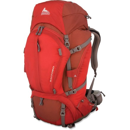 Camp and Hike The Gregory Baltoro 75 pack delivers spacious volume and an updated suspension system, helping you explore deeper corners of the backcountry without unnecessary weight or bulk. - $169.93