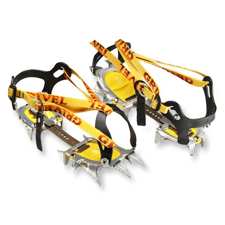 Climbing When weight's a determining factor, pack these crampons along. They'll shave ounces off your alpine pack. - $114.93
