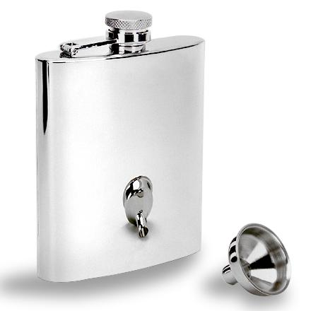 Camp and Hike This GSI stainless-steel flask carries up to 7 fl. oz. of your favorite liquid without leaking. - $19.95