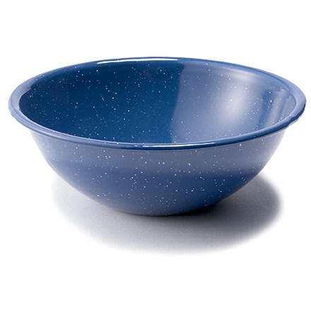Camp and Hike Great for cabin or camp use, this GSI baked enamelware bowl is rugged and easy to clean. - $3.93