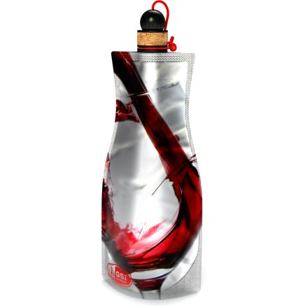 Camp and Hike Transport your favorite wine deep into the backcountry with the GSI Outdoors Soft Sided wine carafe. - $9.95