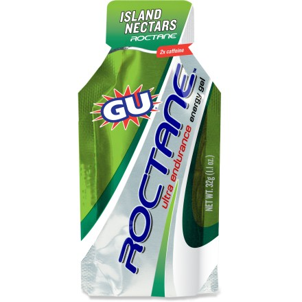 Camp and Hike It's GU to the next power! Roctane Ultra Endurance energy gel formula contains an amplified blend of nutrients to help you push it on multiple-hour endurance trials. - $2.50