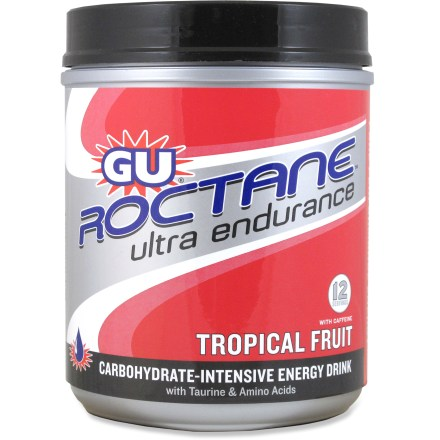 Camp and Hike The GU Roctane Ultra Endurance energy drink mix supplies the carbs and replenishes the electrolytes that are crucial for sustained, high-intensity exercise. - $19.93