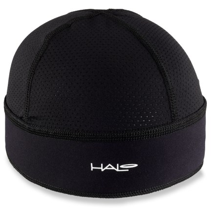 Fitness Slip on the Halo Skull cap under a helmet or hat to catch sweat runoff. - $24.95