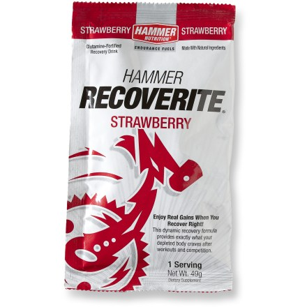 Camp and Hike Make sure today's great workout doesn't become tomorrow's agony-use Hammer Nutrition Recoverite(TM) after your workout! - $3.50
