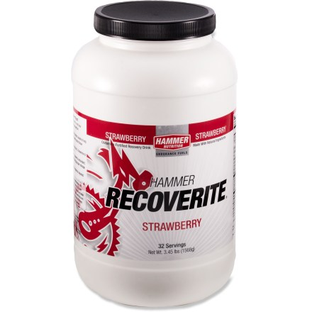 Camp and Hike Make sure today's great workout doesn't become tomorrow's agony! Use Hammer Nutrition Recoverite(TM) after your workout to minimize post-exercise muscle soreness. - $59.95