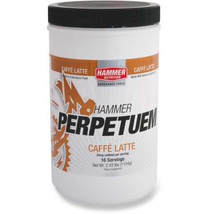 Camp and Hike This 16-serving tub of Hammer Nutrition Perpetuem(R) drink mix is designed to give athletes the consistent energy they need for the long haul! - $30.00