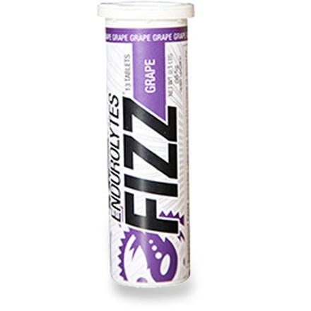 Camp and Hike Hammer Nutrition Endurolytes(R) Fizz tube contains 13 convenient tablets that dissolve quickly in your water to help you replenish electrolytes and stay hydrated. - $6.00