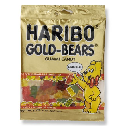 Camp and Hike Yummy gummi bears-the classic, chewy fruit treat from Germany! - $2.00