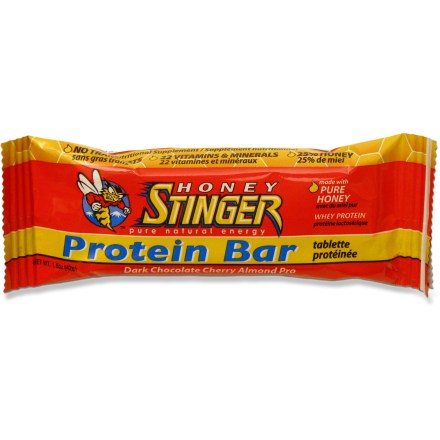 Camp and Hike Chocolate-coated Honey Stinger Protein bars provide big taste and 10g of protein. - $2.30