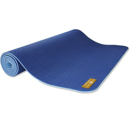 Fitness The cushy Hugger Mugger Earth Elements yoga mat respects the planet and your yoga practice. - $52.95