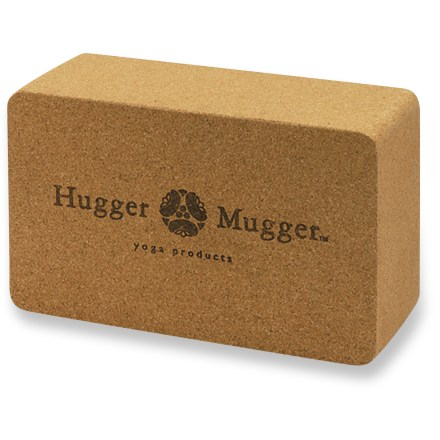 Fitness Made of all-natural, durable cork, the Hugger Mugger cork yoga block will help you get the most out of your yoga routine. - $19.95