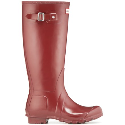 Splish, splash, the Hunter Original Tall Gloss rain boots have got your feet covered and protected as you romp about in the rain. - $89.83