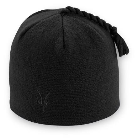 Entertainment Cruise the cross-country trails with the Ibex Top Knot hat on your head. Knit with 25-micron wool and a merino wool interior for excellent comfort and warmth. Sized to fit most women's heads. - $19.83