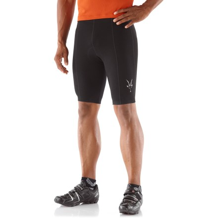 Fitness The Ibex Duo bike shorts are named for their elegant blend of fine merino wool, nylon and spandex. They regulate temperature, resist odors and provide itch-free comfort-naturally! - $59.83