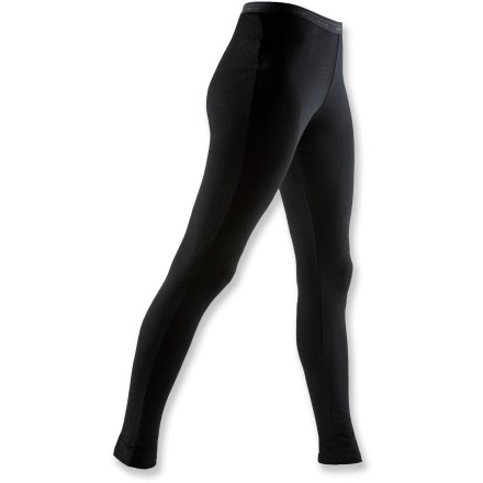 The Icebreaker Everyday Leggings offer a very comfortable fit to keep you feeling warm in a wide range of temperatures. Soft and warm merino wool naturally resists odor, wicks moisture away and dries fast. With a UPF rating of 50+, fabric offers very good protection from UV light. Flatlock seams help eliminate chafing. The Icebreaker Everyday Leggings are machine washable, line dry or dry flat in shade. - $60.00