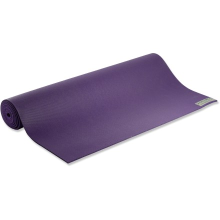 Fitness With the Jade Harmony Professional yoga mat you won't have to worry about slipping as you reach deep into a stretch. - $74.95