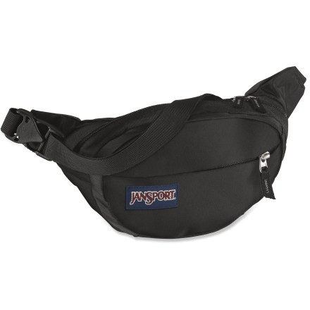 Camp and Hike The JanSport Fifth Avenue waistpack is ideal for packing along just the essentials for day hikes or city strolls. - $7.93