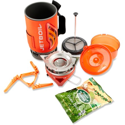 Camp and Hike The Jetboil Flash Java kit gives you everything you need to enjoy a hot cup of fresh coffee from your backcountry campsite. - $74.93