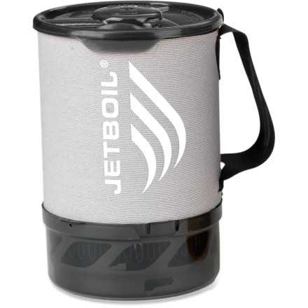 Camp and Hike The lightweight Jetboil Sol(TM) 0.8-liter Titanium Companion cup lets you expand your Jetboil cooking system without making it cumbersome. - $53.93