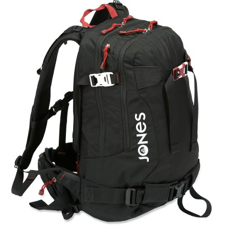 Snowboard The Jones 30L snowboard backpack lets you bring along a little more on those backcountry missions. - $119.93