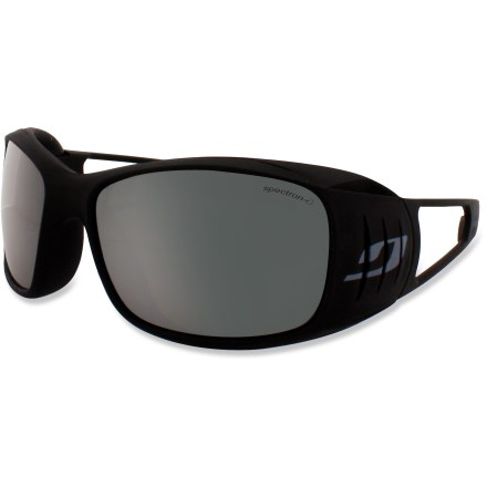 Camp and Hike The wraparound Julbo Tensing sunglasses provide novice mountaineers protection from strong glare and wind at high altitudes. - $24.83