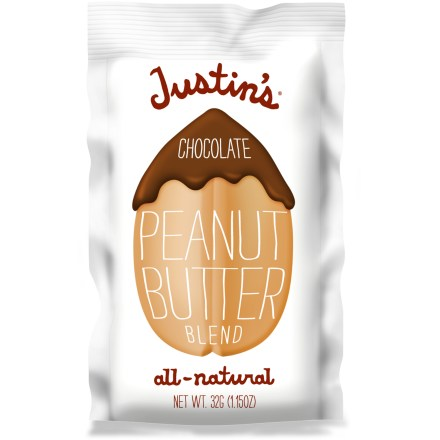 Camp and Hike Justin's Chocolate Nut butter features all-natural ingredients and is made using a special grinding process that creates an irresistible texture and flavor. - $1.50