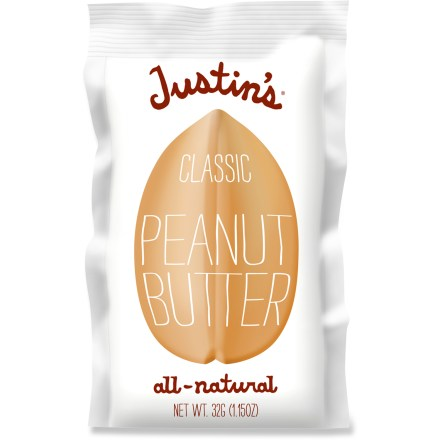 Camp and Hike Justin's Classic Nut butter packages are the perfect snack for people on the go! - $1.50