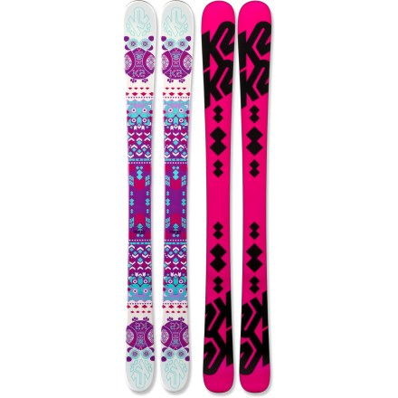 Ski When cruising down any run with the K2 Missy skis, she'll love the responsive control and easy-going style. - $99.93
