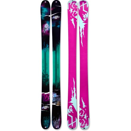 Ski Versatile and tough, the women's K2 MissBehaved skis blast through leftover crud, float high in midwinter powder and cruise easily on springtime corn. - $239.83