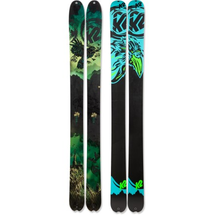 Ski Designed to suit the big-mountain demands of pro skier Seth Morrison, the K2 SideSeth skis are stable, fast and ready for technical lines in deep snow. - $319.83