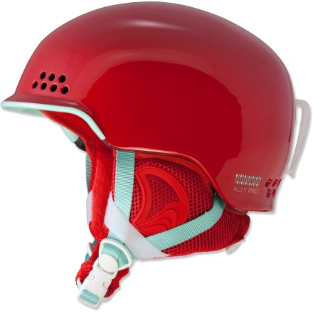 Ski Hit the slopes in the K2 Ally Snow helmet-not only does it look great, but it's lightweight and warm. - $63.83