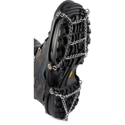 Offering enhanced traction in winter conditions, the Kako ICEtrekkers Chains Traction System acts like tire chains for your feet. - $9.93