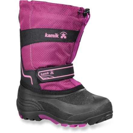 Waterproof and tough, the Kamik Coaster kids' winter boots boast a comfort rating down to -40(R)F during active use for excellent winter performance. - $14.83