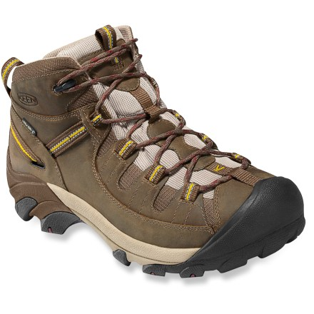 Camp and Hike Keen Targhee II waterproof day hikers deliver tenacious traction, stability and comfort. - $135.00