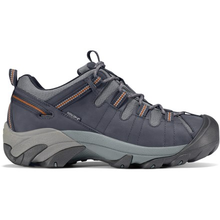 Fitness The men's Targhee II waterproof hiking shoes deliver tenacious traction, stability and comfort on a wide variety of trails. - $125.00