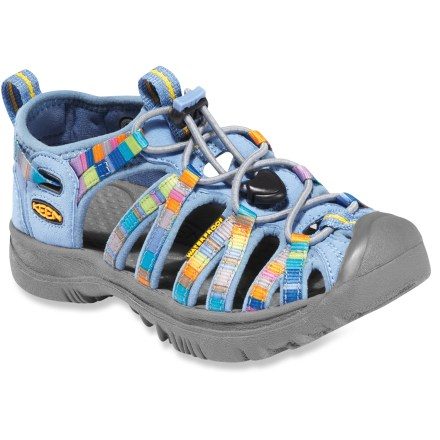 Entertainment The water- and land-loving Keen Whisper kid's sandals will be an instant foot favorite this summer. - $50.00