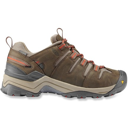 Camp and Hike Waterproof and nimble, the Keen Gypsum WP hiking shoes offer a lightweight platform and stout protection from the elements for excellent trail performance. - $64.83