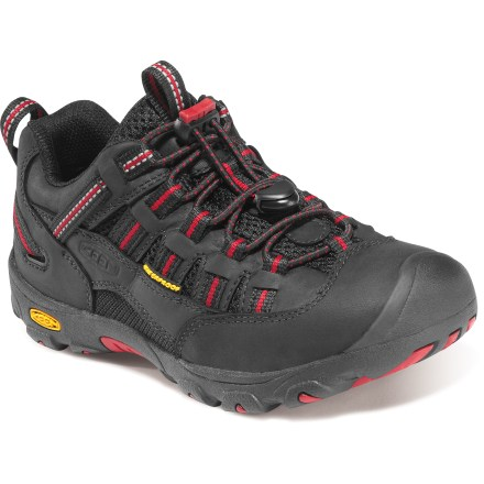 Waterproof and ready to move, the Keen Alamosa WP boys' hiking shoes are great for adventurous kids that love to play in wet conditions. - $15.83