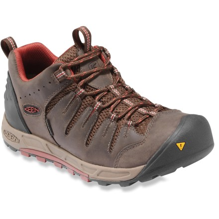 Camp and Hike Ready for adventure, the Keen Bryce WP hiking shoes feature waterproof protection and a sleek, supportive fit for great comfort through your travels. - $61.83