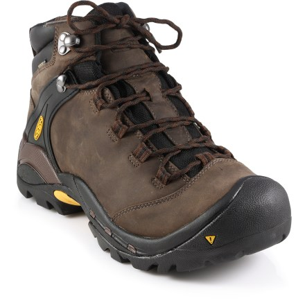 Camp and Hike The Keen Ketchum WP hiking boots provide a waterproof, lightweight and responsive platform for your terrain-traversing endeavors. - $84.83