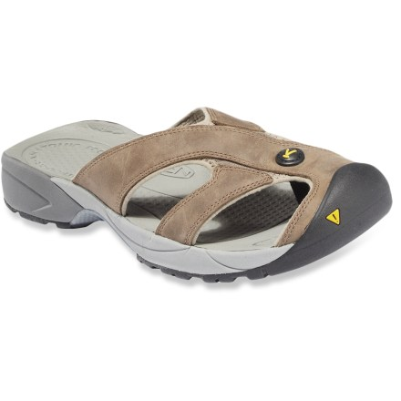 Entertainment The Keen Portico flip-flops go on easy, and they offer amazing comfort and toe protection so you can take them off road. - $27.73