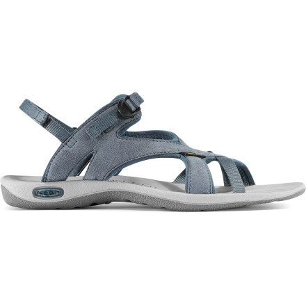 Entertainment The Keen La Paz sandals offer water-friendly performance, a cushy feel and a fun, strappy and adjustable fit. - $34.73